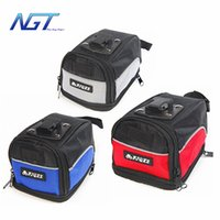 Wholesale Waterproof Mountain Road Bicycle Tail Bag Saddle Bag Bike Pouch Cycling Seat Bag colors Hot Selling