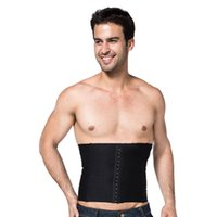 Wholesale NEW Mens Body Slimming Abdomen Waistshaper Girdle Cincher Belt Burn Fat Corset Underwear Bodysuit