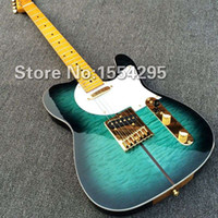 Wholesale New Arrival Custom Shop TL Electric Guitar Merle Haggard Signature Tuff Dog Excellent Quality SUPER RARE Green color