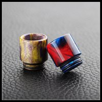 Wholesale Hottest selling TFV8 dribbling nozzle Most Popular Epoxy Resin drip tips colorful resin drip tip for TFV8