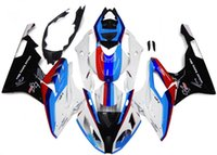 abs motorbike - New Full Injection Fairings For BMW S1000RR s1000 Complete ABS Plastic Motorcycle Fairing Kit Motorbike Cowlings red blue cool