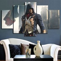 assassin poster - Home Wall Decor Piece Assassins Creed Painting Modern Wall Art Canvas Painting Movie Poster No Frame