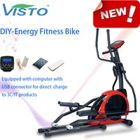 Wholesale DIY Energy Fitness Bike Cardio Fitness Exercise Belt Driven Bike Indoor Lightweight Bicycle