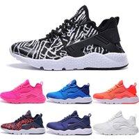 Wholesale Cheap Running Shoes New Huarache Men Women Quality Wallace Hot For Sale Walking Sports Shoes Size