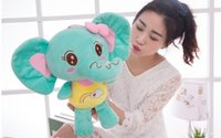 baby toy ideas - 2016 Strange new hot baby elephant plush toy elephant doll cute doll birthday gift ideas for Christmas Toys e mail treasure