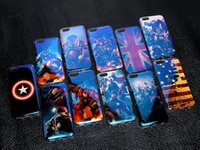 american ray - Blu ray TPU Case The Captain of American Series Cover Case For Samsung S4 S5 Note3 Note4 Note5 S6 S7