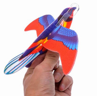 Wholesale Bird Glider Assorted Flying Gliders Foam Plane Aeroplane Kids Children DIY Toys