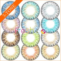 big pieces - by DHL ready stock Freshgo tone contact lenses color blends contacts fresh soft colored contacts pair pieces
