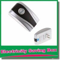Wholesale New Type Power Electricity Saving Box Energy Saver us Plug V V Save Electricity Bill AU US UK EU Power plug available OM CG7