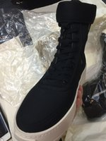 al por mayor justin bieber zapatos de cuero-Botas Justin Bieber Botas FOG de calidad superior Botas de botas de invierno