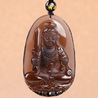 b lights pendants - Opening The Light Natural Ice Matting Black Yao Shi Does Not Move Enlightened Ruler Pendeloque Cut The Chinese Zodiac Chicken Patron Saint B