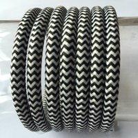 antique textiles - mm Vintage Braided Fabriclamp Wire DIY antique Textile braided Cable Retro pendant lamp flex Cord
