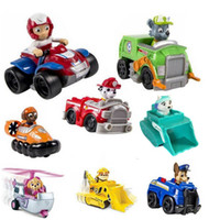 Wholesale set Patrol Canine toys Car Sets Toys Action Figures Model Patrulha patrulla canina Juguetes