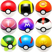 Wholesale set ABS Action Anime Figures CM Master Ball Poke Ball Japanese Anime Figure Ball Toys types A080306