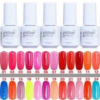 Wholesale Long lasting Colors Color ml Soak Off Nail Gel Polish For Nail Art Gel Lacquer Led uv Gelish Nail Polish