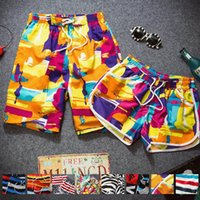 Wholesale Big Yards Lovers Beach Pants Quick Drying Sports Summer Sports And Leisure Swimming Quick Drying Pants Striped Zebra sh6