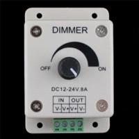 Wholesale New V A LED Strip Dimmer Brightness Adjustable Control Dimmers Cheap Dimmers Cheap Dimmers