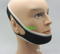 Wholesale Stop Snoring Solution Chin Strap Anti Snore Jaw Belt Sleep Support Snoring Strap Brand New Good Quality