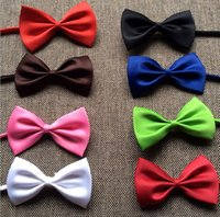 Wholesale High quality Fashion Man and Women printing Bow Ties Neckwear children bowties Wedding Bow Tie