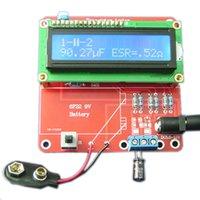 Wholesale DIY Kits Capacitance ESR Inductance Resistor Meter Tester NPN PNP Mosfet M168 New Arrival High Quality