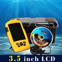 Wholesale LUCKY Portable Underwater Fishing Inspection Camera System CMD sensor inch TFT RGB Waterproof Monitor Fish Sea M Cable