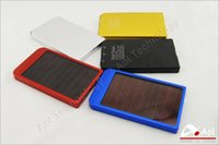 battery by cell phone - 2600MAH Solar Battery Panel Charger portable power bank power mobile for Cell Mobile Phone MP3 with Retail Box by DHL Fedex