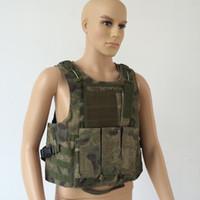 Wholesale Molle CIRAS Tactical Vest Airsoft Paintball Combat Vest W Magazine Pouch Utility Bag Releasable Armor Carrier Vest