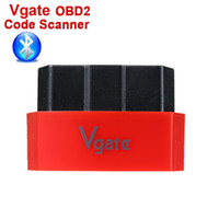 Wholesale Newest Original Vgate Icar3 ELM327 Bluetooth OBD2 OBD OBDII iCar ELM BT Car Diagnostic interface Support Android IOS PC