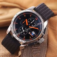 accurate stopwatch - Top luxury Business brands high quality Multi function Timing stopwatch wristwatch accurate pointer Rubber band quartz mens watches