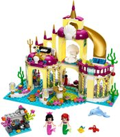 Wholesale BELA Princess Undersea Palace Girl Friends Building Blocks Bricks Toys For Children Birthday Gift
