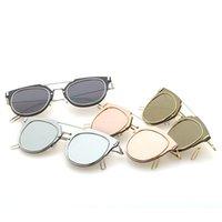 adult accesories - New Fasion Designer Unisex Reflectiving Sunglasse Classic Vintage UV400 Sun Glasses Fasion Accesories Dazzle Color