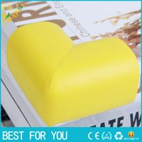 Wholesale 60 mm Soft Baby Safe Corner Protector Baby Kids Table Desk Corner Guard Children Safety Edge Guards