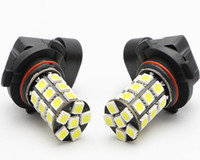advanced lamps - 9006 HB4 Car Advanced Glow SMD LED Fog Light Bulbs White Red Automotive Vechicle DRL Driving Lamp