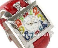 avant garde watch - 2016 Fashion Multicolour figures gaga milano watch the avant garde square dial unisex gaga watches