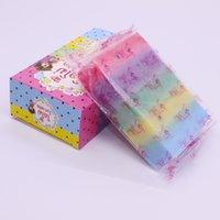 Wholesale 2016 new rainbow soaps facebook hot Whitening and moisturizing white plus for girl birthday gift