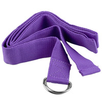 Wholesale New Arrival Fitness Exercise Gym Yoga Stretch Strap D Ring Belt Figure Waist Leg