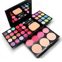 ad easy - ADS Make Up Set Eyeshadow Makeup Set Blusher Lip Gloss Concealer colors EyeShadow Palette Kit