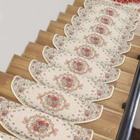 beige area rug - New Beige Stair Area Rugs Pads Free Self adhesive Glue Stair Carpet Mats Household Corridor Hallway Carpet