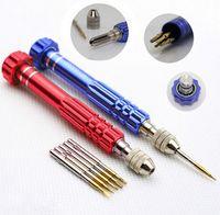 alloy repair kit - 5In1 Aluminum Alloy Pentalobe Repair Screwdriver Set Kit For iphone S C S Samsung Nokia