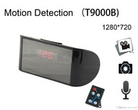 Wholesale 2015 New Rushed None Remote Control p Degrees Wide Angle Motion Detection H Multifunction Video Recorder Dvr Clock Camera