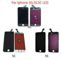 Wholesale Replacement Digitizer Assembly LCD Touch Panels For Iphone C S Black White DHL Free Ship