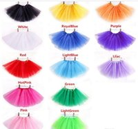 Wholesale Hot Sales Baby Girls Childrens Kids Dance Clothing Tutu Skirt Pettiskirt Dancewear Ballet Dress Fancy Skirts Costume