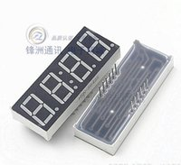 Wholesale 0 quot inch Digits Seven Segment Numeric Digital Display LED Red with Clock Pin Common Anode