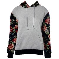 best womens hoodies - Best Deal New Fashion Good Quality Womens Floral Sleeve Hoodie Sweatshirt Jumper Hooded Pullover Tops Blouse Size S XL PC
