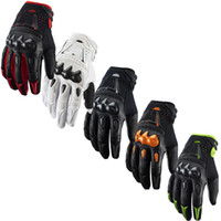 Wholesale New Carbon bomber motocross gloves BMX ATV MTB MX Off Road cross fox glove Dirt bike Cycling bicycle Motorcycle racing gloves