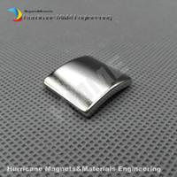Wholesale 1000 NdFeB Magnet Arc Length25 Width23 Thickness2 mm N38UH Moto magnet for generators wind turbine Neodymium Magnet