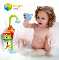 bathtub game - Fountain Baby Bath Toys Game for Children Kids Water Spraying Taps Bathroom Bathtub Toys Play Sets Early Educational Toys Gifts