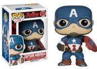 achat en gros de vengeurs funko-Funko POP Marvel Avengers 2: Capitaine America Figure Modèle avec boîte cadeau