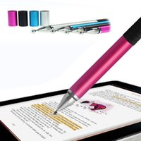 Wholesale 2 in Touch Screen Stylus Ballpoint Pen for iPad iPhone Samsung HTC Sony Tablet