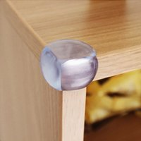 Wholesale Transparent Table Corner Guards Desk Corner Cushion Baby Child Kid Safety Bumpers Protectors on Edge Furniture Desk